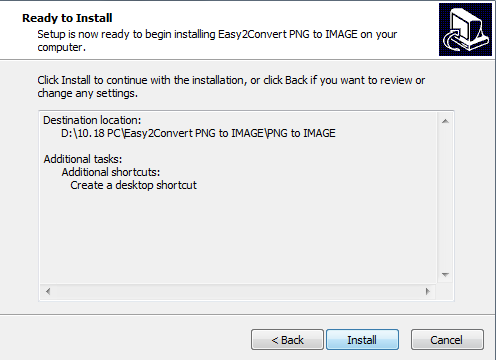 Easy2Convert PNG to IMAGE